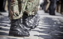 The number of servicemembers deployed overseas hit its lowest point in over 60 years.